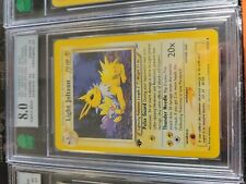 1x - 2002 Neo Destiny Light Jolteon 1st Edition 48 - MNT 8.0 (like psa) NM, Engl