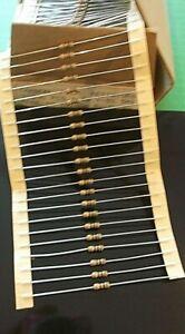 Resistor 12K Ohms 12,000 Ohm Ohm's Metal Film 0.25 W Std Package 1% x 50pcs