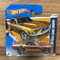 Hot Wheels HW Muscle Mania Ford 12 67 Ford Mustang Coupe 6/10 2011 Brown Car