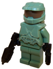 **NEW** LEGO Custom - MASTER CHIEF - Halo Spartan Sand Green John Minifigure