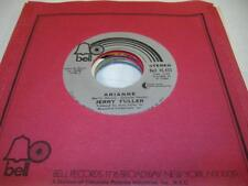 Rock Unplayed NM! 45 JERRY FULLER Arianne on Bell