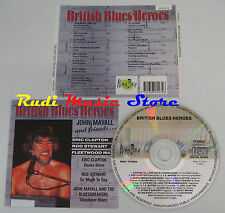 CD BRITISH BLUES HEROES John mayall and friends CLAPTON STEWART no mc lp dvd(C7)