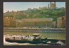 """LYON (69) Péniche """"LE CARDINAL"""" , tres gros plan , 1978"""