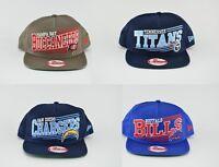 NEW NFL New Era 9FIFTY A-Frame Angular Snapback Hat Cap