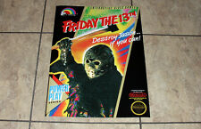 NES Friday the 13th Jason Vorhees custom box art Poster Art Print Nintendo avgn