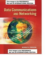 Data Communications and Networking by Behrouz A. Int' Edition PaperBack -5th Ed