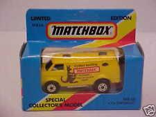 "MATCHBOX 1/75 MB68 4X4 CHEV VAN ""MATCHBOX"" Limited Edition for Australia MINTBOX"