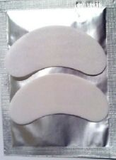 50 Eyelash Extension Under Eye Gel Patches Lint Free Eye Pads or for Perm/Tints