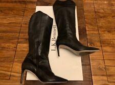 LK Bennett black leather boots UK 5 38 boxed