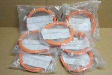 7 cables fibre optique de 5m OPTRONICS Ref SC/PC ST/PC 62.5/125 Duplex patchcord