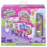 Shopkins Kinstructions Fashion Boutique 3 Buildable Figures 119 Pcs New