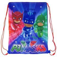 PJ Masks Blue Gym Bag Swim PE School Boys String Gift Catboy Owlette Gekko