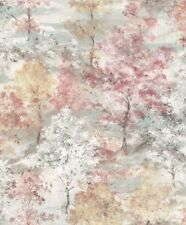 Essener Tapete Global Fusion G56432 Wald Baum Bäume grau rosa Vlies Vliestapete