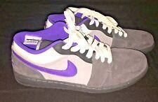 Nike Air Jordan Shoes - Mens 13 Retro 1 Phat Low Anthracite Purple Stealth 2010