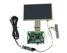 7 Inch TFT LCD Monitor Touch Screen + Driver Board HDMI VGA For Raspberry Pi B+