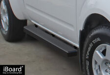 """4"""" iBoard Running Boards Nerf Bars Fit 05-18 Nissan Frontier/Equator King Cab"""