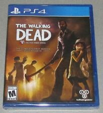 The Walking Dead First Season for Playstation 4 Brand New! Factory Sealed!