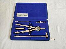 More details for vintage staedtler drawing instrument set 23886 e