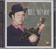 """Bill Monroe """"Famous Country Music Makers"""" 2CD Set NEW & SEALED 1st Class Post UK"""