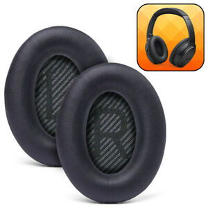 Wicked Cushions Replacement Ear Pads For Bose QuietComfort 35 & 35ii- Black