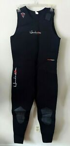 Henderson Divewear Mens Wetsuit Size 3X 5MM Thermoprene Fullsuit Excellent