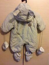 Pulcino Baby Snow Suit Beige  Size 62/68 ,3-6 mos