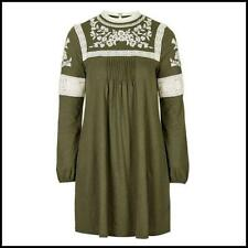 Topshop Cotton Casual Long Sleeve Dresses for Women