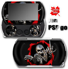 Cool Skull SKIN STICKER DECAL COVER for SONY PSP Go