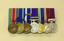 UN Bosnia, IFOR, KFOR, N Ireland, Jubilee, Army LSGC, Full Size Mounted Medals