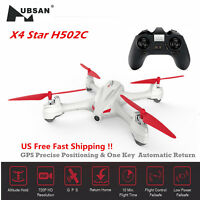Hubsan H502C X4 2.4G 4CH RC Quadcopter Drone 6 Axis with 720P HD Camera GPS RTF