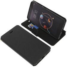 Tasche für Archos Diamond Alpha Smartphone Book-Style Schutzhülle Buch Schwarz