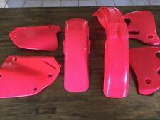 Honda  Cr125 250 500 1992 93 94 New Plastic Kit Gloss Atomic Red