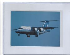 SABENA Airlines issued BAe 146 cont/l  postcard