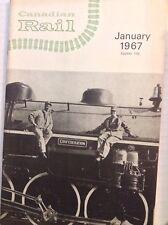 Canadian Rail Magazine Three Rivers Traction January 1967  100517NONRH2