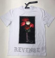Hudson Outerwear Revenge Gun Rose White 2XL T-Shirt  Nice