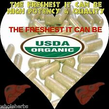#1 Milk Thistle WHOLE The Freshest Cleanse Detox CERTIFIED ORGANIC 100 CAPSULES