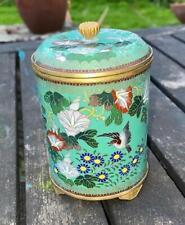 More details for antique japanese cloisonne box cigarette holder