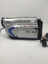 JVC GR-SXM260U Super VHS Video Camera Camcorder 700X Digital Zoom Pic Stabilizer