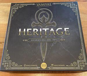 Vampire Die Maskerade Heritage Brettspiel