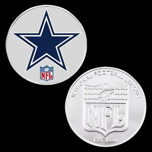 New Souvenir Gift Dallas Cowboys Nfl Coin Us Football Team Challenge Coins