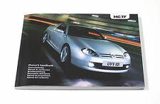 MG TF Owner's Handbook (RCL 0606) *NEW/UNUSED*