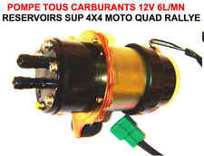 Robuste Pompe à Carburant 12V 6L/Mn RAID 4X4 HDJ KDJ PATROL LAND JEEP PAJERO DEF