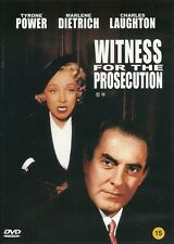 WITNESS FOR THE PROSECUTION  NEW  DVD