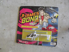 RARE 1992 ERTL James Bond Jr SCUM Helicopter Diecast Toy NIP