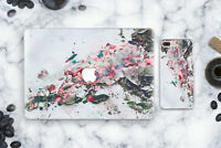 Watercolor Laptop Hard Cover Macbook Air 11 13 Marbled Case Macbook 12 Pro 15
