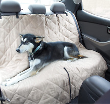 Pet Dog Seat Cover Quilted Water Resistant Vehicle Durable Waterproof Car Truck