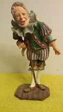 "Autographed - Duncan Royale Pantalone Clown Figurine Statue - Number # ""Sample"""