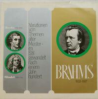 """BRAHMS - HAYDN - HÄNDEL - VARIATIONEN VON THEMEN ALTER MEISTER  12"""" LP (c768)"""