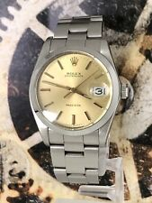 Rolex Oyster Date Precision Edelstahl 34mm Ref. 6694 Untouched Top