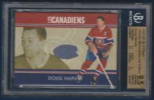 DOUG HARVEY 2001-02 BAP ULTIMATE MEMORABILIA LES CANADIENS /40 BECK 9.5  28947